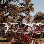 outdoor ceremony - Boschendal