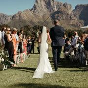 ceremonies, ceremony, ceremony entrance, outdoor ceremony - Boschendal
