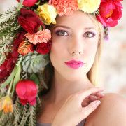 flowers, hairstyle, headpiece, makeup - Oopsie Daisy Flowers