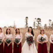 bouquets, bride and bridesmaids - Oopsie Daisy Flowers