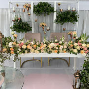 floral decor, floral runner, hanging greenery - Oopsie Daisy Flowers