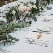 table settings - Panorama Wedding Venue