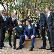groomsmen - Glenburn Lodge & Spa