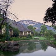 dam, mountain, venue