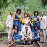 bridesmaids dress, groomsmen, suit
