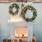 candles, floral decor - Hawksmoor House
