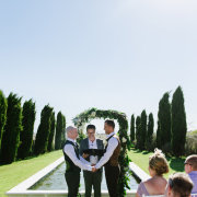 outdoor ceremony - Hawksmoor House