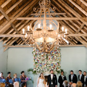 chandeliers, floral decor, wedding decor - Hawksmoor House