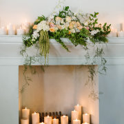 candles, floral decor, wedding decor - Hawksmoor House