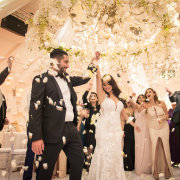 bride and groom, bride and groom, confetti - The Event Planners