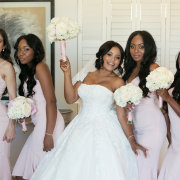 bride and bridesmaids - The Event Planners