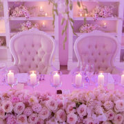 floral centrepieces, table decor, table decor, table decor, table decor with candles, wedding furniture - The Event Planners