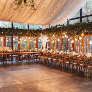 draping, fairy lights, wedding decor - New Vintage Events