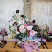 floral centrepieces - New Vintage Events