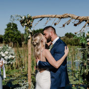 bride and groom, bride and groom, bride and groom, first kiss, kiss, kiss, kiss - Megara Weddings