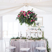 hanging decor, wedding decor - Café Fleur / Cor de Rosa
