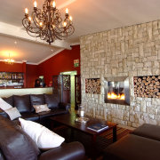 fireplace, living room - Intaba View
