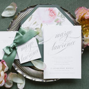 flowers, menu, table decor, table decor - Secret Diary
