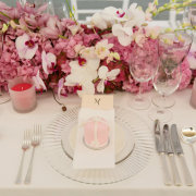 floral centrepieces, table settings - Otto de Jager Events