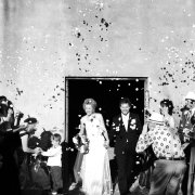 bride and groom, bride and groom, confetti - Otto de Jager Events