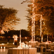 fairy lights, outdoor reception - Otto de Jager Events