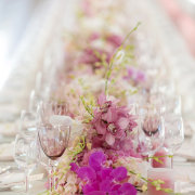 floral runner - Otto de Jager Events