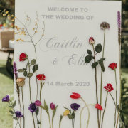 wedding stationery, welcome sign - The Hanging Inspiration
