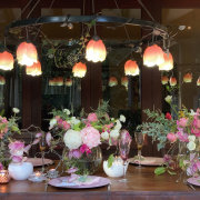 floral decor - The Hanging Inspiration