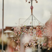 chandelier, hanging decor, hanging florals - The Hanging Inspiration