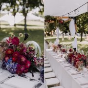 floral centrepiece, floral centrepieces, naked bulbs - Salt & Pepper Creative