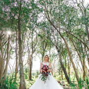 bouquet, bride, wedding dress, wedding dress, wedding dress - Oakfield Farm – Wedding & Function Venue