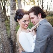 bride and groom, makeup, hair