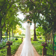 dress, garden - Oakfield Farm – Wedding & Function Venue