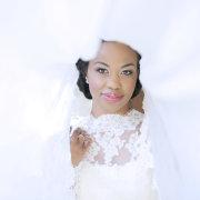 bride, dress, makeup