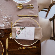 table settings, wedding stationery - Barefeet