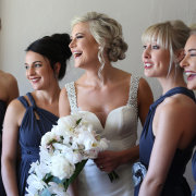 bride and bridesmaids - Barefeet