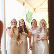 brides maids, brides maids dresses - Barefeet