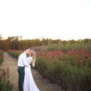 kiss, wedding dress - Barefeet Videography