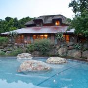lodge, swimming pool, venue, kzn venues - iNsingizi Game Lodge and Spa