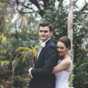 bride and groom, hairstyle, suit