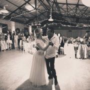 reception hall, first dance