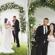 venue, wedding arch
