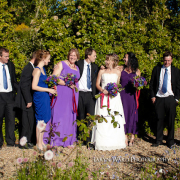 bouquet, bridesmaid dress, groomsmen - Flowerheart