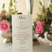 flowers, menu - Flowerheart