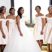 bride and bridesmaids - Musallio Africa