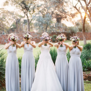 bouquet, bridesmaid dress, wedding dress - Infinity Dress South Africa
