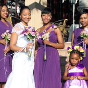 bouquet, bridesmaid dress, flower girls, wedding dress - Infinity Dress South Africa