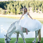 horse, wedding dress - Infinity Dress South Africa