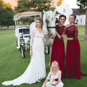 bridesmaid dress, flower girls, horse, wedding dress - Infinity Dress South Africa