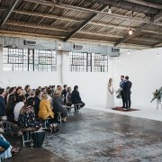 wedding ceremony - The Plant Venue Co.